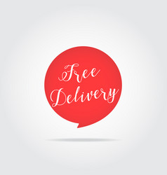 best buy label handdrawn lettering red color vector image