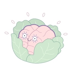 Brand new Brain collection vector image vector image