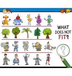Find wrong picture activity vector