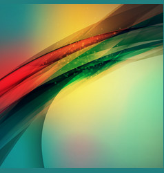 abstract colorful background wave blurred soft vector image