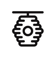 beehive icon vector image