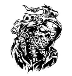 Death flute vector