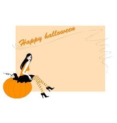 Funky halloween vector