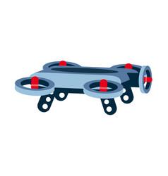 Hover board flying new technology flying skate vector