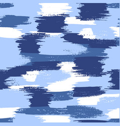 military camouflage pattern water blue vector image