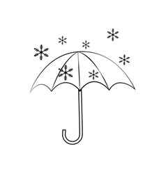 abstract weather icon vector image