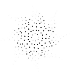 abstract dotted texture vector image