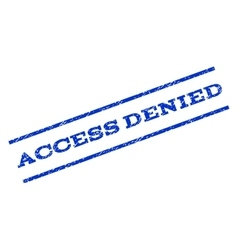Access Denied Watermark Stamp vector