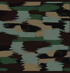 Camouflage pattern khaki seamless vector