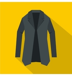 Jacket icon flat style vector
