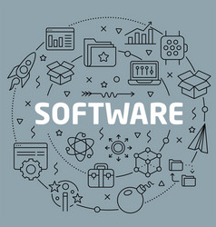 linear software vector image