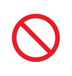 Prohibit no sign vector