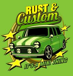 Rush and custom vector