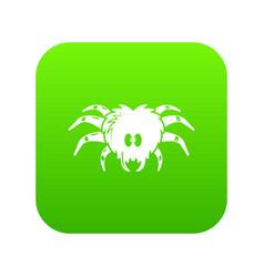 tarantula icon simple black style vector image