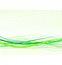 green lines background vector image vector image