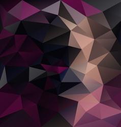 Dark purple black abstract polygon triangular vector