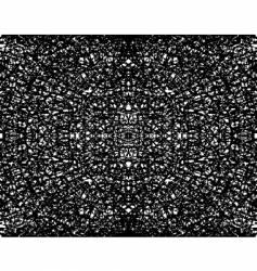 fractal grunge vector image