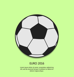 Outline soccer ball background football day eps 1 vector