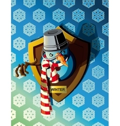 survived another cold winter vector image