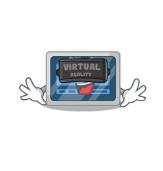 A cartoon image digital timer using modern vector