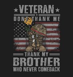 American boots soldier memmorial vector