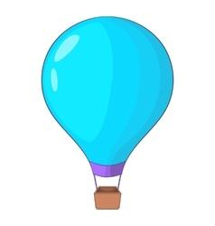 Beautiful balloon icon cartoon style vector