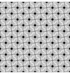 Design seamless monochrome diagonal points pattern vector