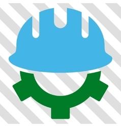 Development Helmet Icon vector