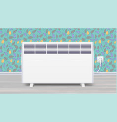 electric panel of radiator appliance for space vector image