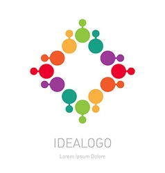 logo design element or icon Abstract multicolor vector image