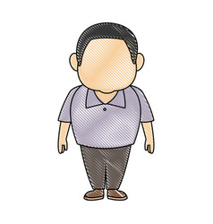 Man character adult people avatar male image vector