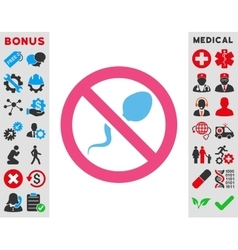 Spermicide Icon vector image