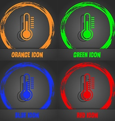 Thermometer icon Fashionable modern style In the vector