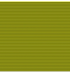 Yellow galousie Volume of horizontal lines vector