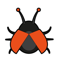 bug insect icon image vector image vector image