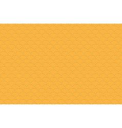 Chinese orange seamless pattern dragon fish scales vector image