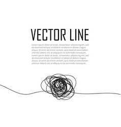 a thread drawn from the hand hand drawn object vector image