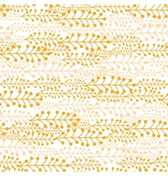 Abstract Striped Plant TextureSeamless Pattern vector image vector image