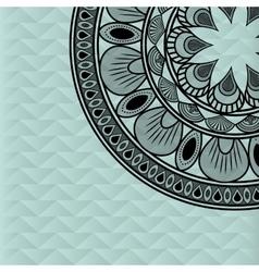 Bohemic design multicolored icon decoration vector