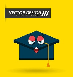 character School Supply design vector image