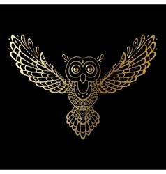 Owl Tribal pattern vector