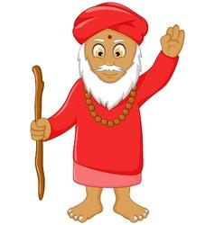 Religious leader cartoon for you design vector