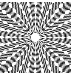 rotation pattern vector image