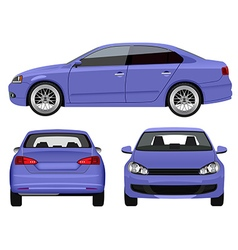 Sports Sedan vector image