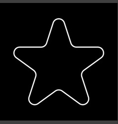 star it is icon vector image