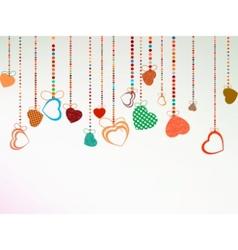 valentine day background eps 8 vector image