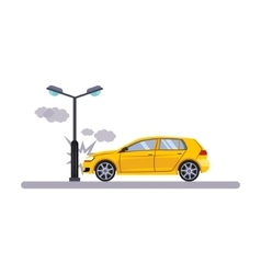 Car and Transportation Issue with a Lamp vector image vector image