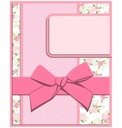 flower card set vector image vector image