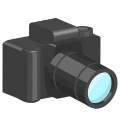 camera illustration vector image