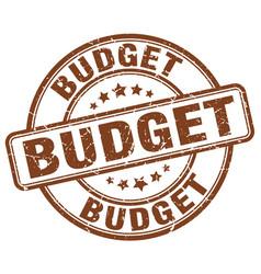 Budget stamp vector